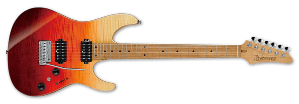 Ibanez AZ Premium Electric Guitar IN Tequila Sunrise Gradation AZ242F-TSG - The Guitar World