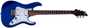 Schecter Banshee-6 SGR in Electric Blue EB SKU 3854 - The Guitar World
