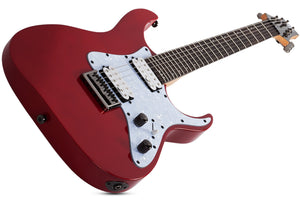 Schecter Banshee-6 SGR 6-String Electric Guitar - Metallic Red 3855-SHC