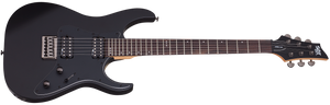 Schecter Banshee-6 SGR in Satin Black SBK SKU 3852 - The Guitar World