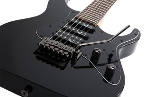 Schecter Banshee-6 FR SGR in Gloss Black BLK SKU 3856 - The Guitar World