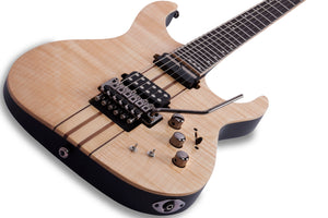 Schecter Banshee Elite-6 FR-S Electric Guitar - Gloss Natural 1251-SHC - The Guitar World