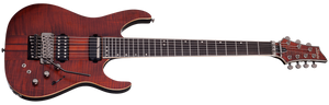 Schecter Banshee Elite-7 FR S Electric Guitar Cat's Eye Pearl 1263-SHC - The Guitar World