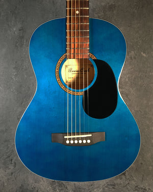 BeaverCreek BCTD601 Dreadnought Acoustic Guitar in Trans Blue - The Guitar World