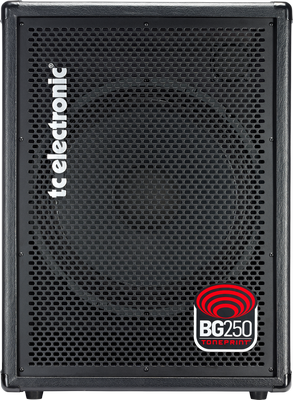 "TC ELECTRONIC BG250-115MKII 250 Watt 15"" Bass Combo Amplifier with Dual TonePrint Effects and Integrated Tuner"