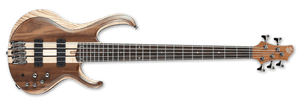 Ibanez BTB 5-String Bass IN Natural Low Gloss BTB745-NTL - The Guitar World