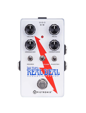 Pigtronix Bob Weir's Real Deal Acoustic Preamp BWP - The Guitar World