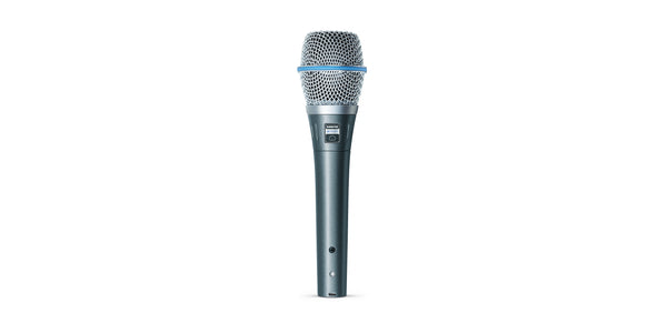Shure BETA 87C Vocal Microphone - The Guitar World