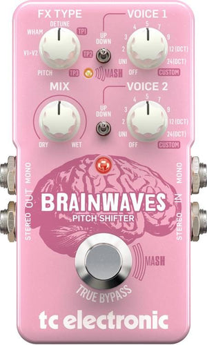 TC Electronic Brainwaves Pitch Shifter Pedal - The Guitar World