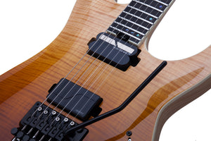 Schecter C-1 FR SLS Elite Antique Fade Burst (ANQFB) SKU 1352 - The Guitar World