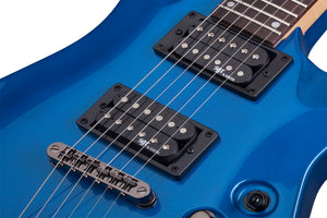 Schecter C-1 SGR by Schecter Electric Blue EB SKU 3804