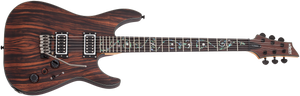 Schecter C-1 Exotic Ebony in Natural Satin Finish - The Guitar World