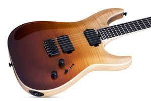 Schecter C-1 SLS Elite in Antique Fade Burst ANQFB SKU 1350