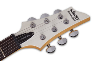 Schecter C-6 Deluxe in Satin White SWHT SKU 432