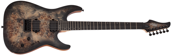 SCHECTER C-6 Pro Charcoal Burst - 3631 - The Guitar World