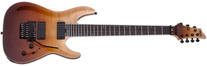 Schecter C-7 7 String FR SLS Elite with Floyd Rose - Antique Fade Burst 1356-SHC