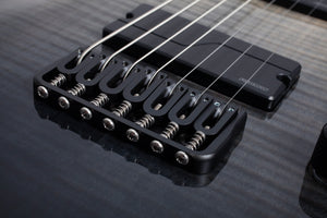 Schecter C-7 SLS Elite in Black Fade Burst BFB SKU 1355