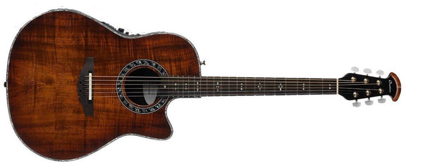Ovation Custom Legend Contour Acoustic-Electric Guitar Koa Burst C2079AXP-KOAB - The Guitar World