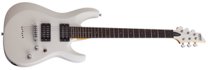 Schecter C-6 Deluxe in Satin White (SWHT) SKU #432