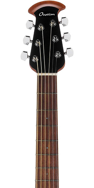 Ovation Celebrity Plus Super Shallow Acoustic-Electric Guitar, Regal to Natural CS28P-RG