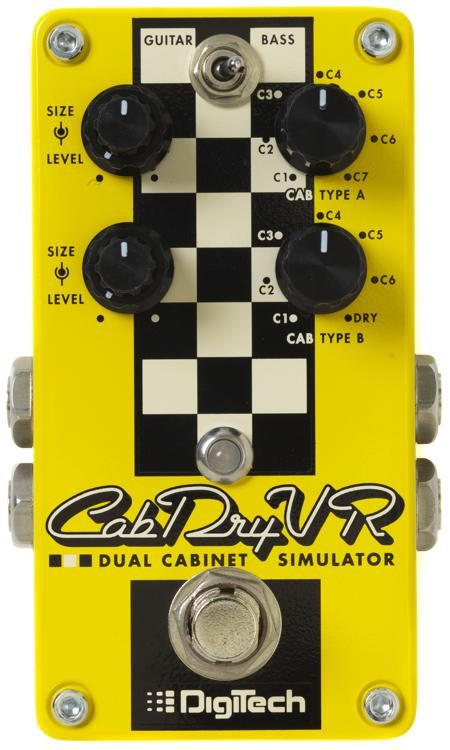 Digitech CabDryVR Dual Cabinet Simulator Pedal - The Guitar World