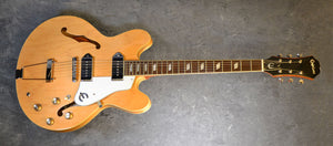 Epiphone Casino in Natural USED but Mint Condition - TGWX - The Guitar World