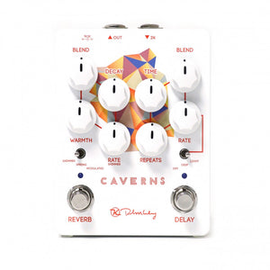 Keeley Caverns Tape Style Delay Reverb Pedal - The Guitar World