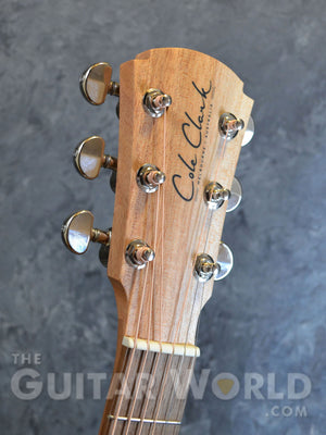 Cole Clark AN1E-BM Bunya Top with Queensland Maple Back and Sides Acoustic Guitar