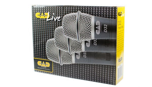 CAD 3 Pack of D32 Supercardioid Dynamic Vocal Microphone with on/off Switch D32X3 - The Guitar World
