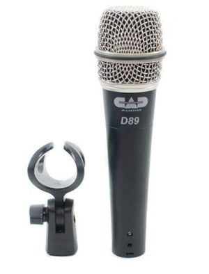 CAD Premium Supercardioid Dynanic Instrument Microphone D89 - The Guitar World