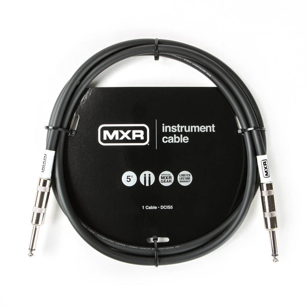 Dunlop Standard MXR Instrument Cable DCIS05 - The Guitar World
