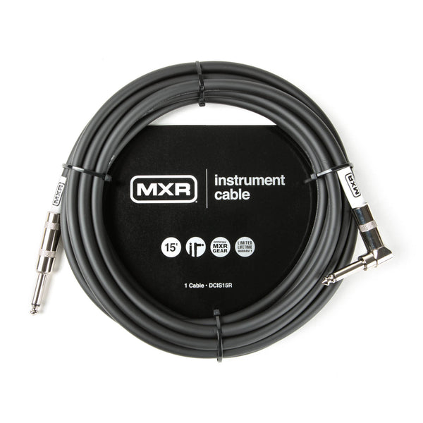 Dunlop Standard MXR Instrument Cable DCIS15R - The Guitar World