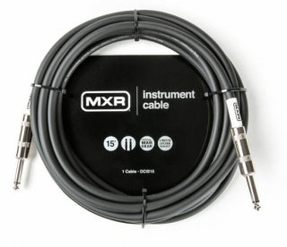 Dunlop Pro Series MXR Instrument Cable DCIS15 - The Guitar World