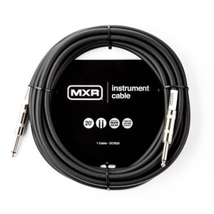 Dunlop MXR 20' Standard Instrument Cable DCIS20 - The Guitar World