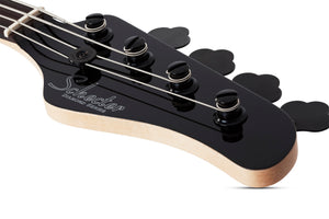 SCHECTER J-4 Gloss Black 4 STRING BASS 2911 - The Guitar World