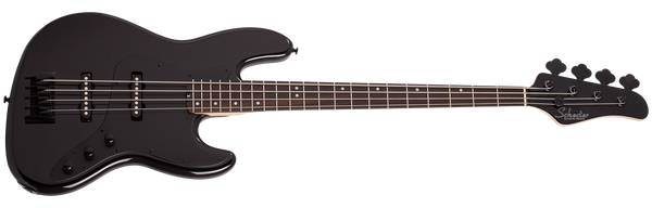 SCHECTER J-4 Gloss Black 4 STRING BASS 2911