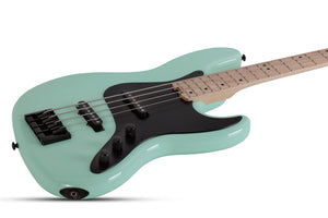SCHECTER J-4 Sea Foam Green 4 STRING BASS - 2910