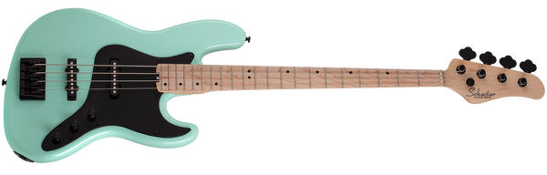 SCHECTER J-4 Sea Foam Green 4 STRING BASS - 2910 - The Guitar World