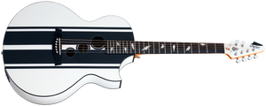 Schecter DJ Ashba Acoustic Guitar Satin White 3718-SHC - The Guitar World