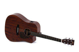 Sigma Guitars Dreadnought Acoustic Electric Guitar, Natural