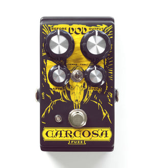Digitech Carcosa Fuzz Analog Fuzz - The Guitar World