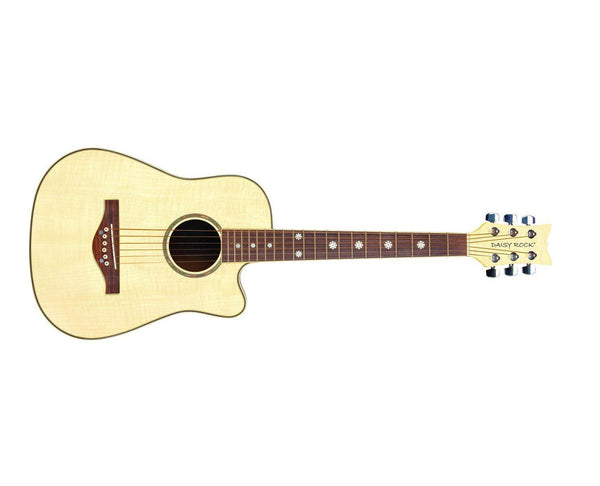 Daisy Rock Guitars Daisy Rock Wildwood Short Scale Acoustic Guitar, Bleach Blonde DR6261 - The Guitar World