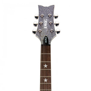 Daisy Rock Guitars Candy Electric Guitar - Platinum Sparkle DR6759 - The Guitar World