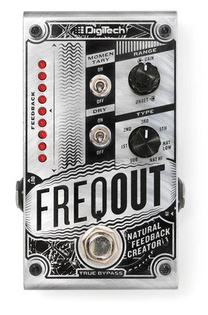 Digitech FreqOut Natural Feedback Creator Pedal - The Guitar World