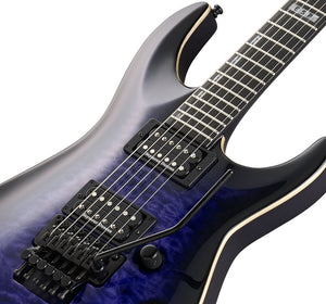 ESP E-II Horizon QM FR Electric Guitar Reindeer Blue MADE IN JAPAN EIIHORQMFRRDB EII - The Guitar World