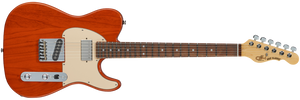 G&L FULLERTON DELUXE ASAT CLASSIC BLUESBOY Clear Orange
