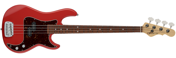 G&L FULLERTON DELUXE LB-100 BASS RED