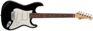 G&L FULLERTON DELUXE LEGACY Electric Guitar in Jet Black