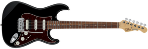 G&L FULLERTON DELUXE LEGACY HB Electric Guitar in Jet Black