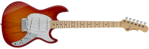 G&L FULLERTON DELUXE SKYHAWK Electric Guitar in Clear Orange
